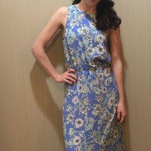 H & M Floral Maxi Dress SZ 6